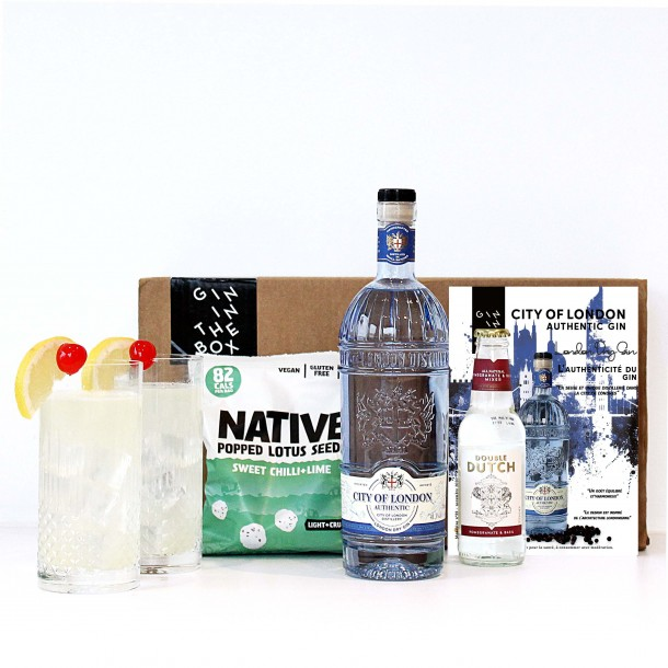 Box City Of London Gin