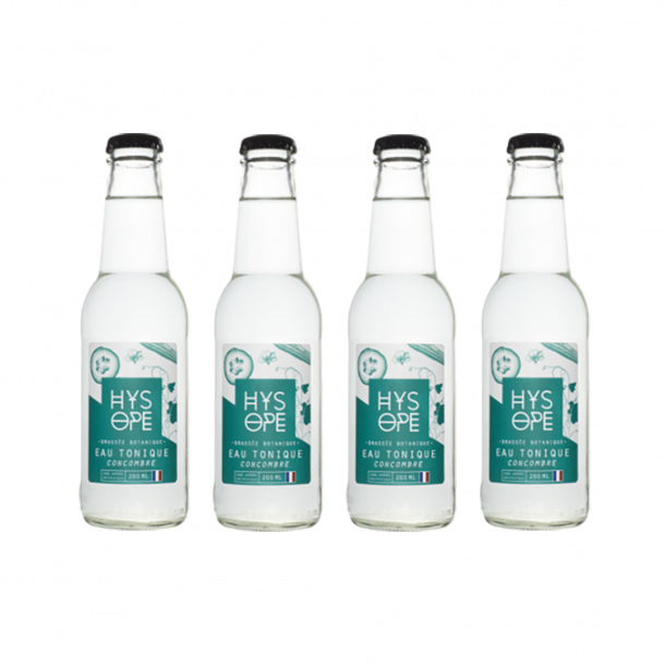 Pack 4 Hysope : Tonic water Cucumber