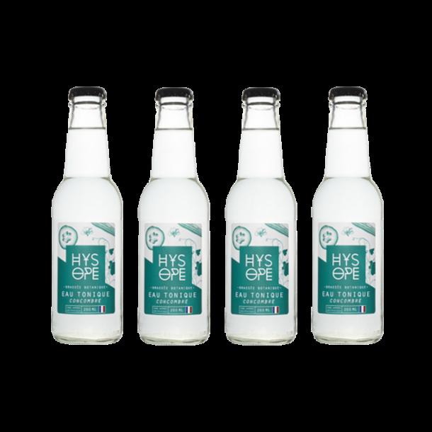 Pak 4 Hysope : Tonic water Komkommer