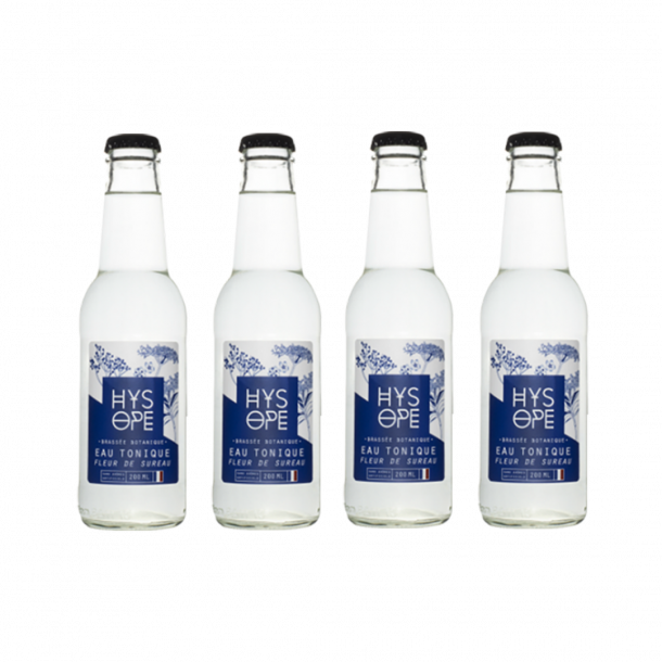 Pack 4 Hysope : Elderflower Tonic Water
