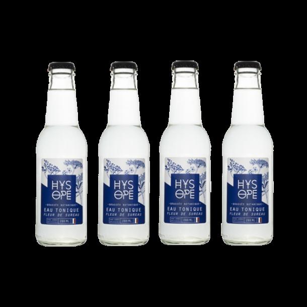 Pak 4 Hysope : Vlierbloesem Tonic Water
