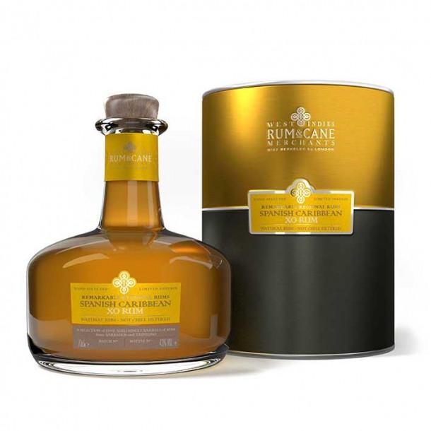 Rum & Cane Spanish Caribbean XO (43°, 0,7L)