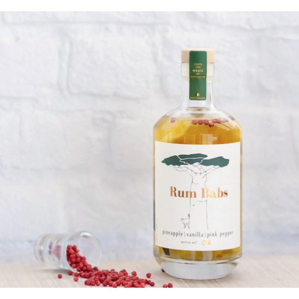 RUM BABS - ANANAS | VANILLE | POIVRE ROSE (0.7L)