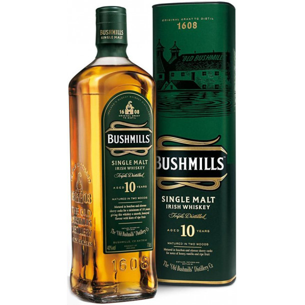 Whisky Bushmills 10 Years (40%, 70cl)